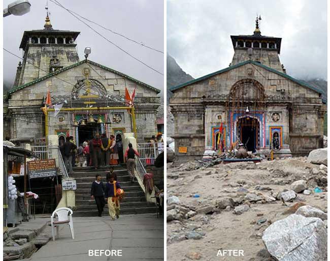 Kedarnath, Uttarakhand - 2013 flash floods | Uttarakhand ... Uttarakhand Temple Disaster